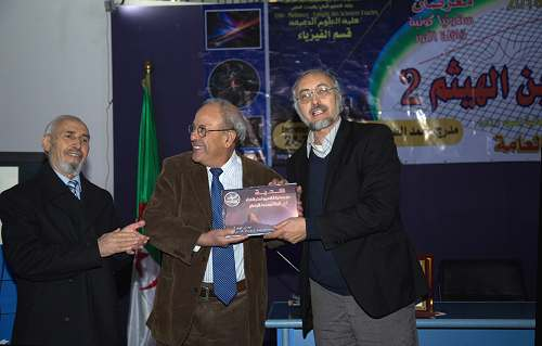 Tadjeddine CNRS International year of Light 2015 Algeria Constantine