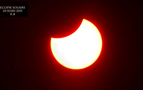 Eclipse Algeria 20 March 2015