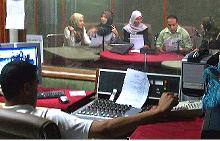 Radio program astronomy